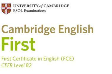 Cambridge English: First (FCE) – egzamin na poziomie B2 dla młodzieży i dorosłych