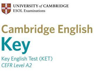 Cambridge English: Key (KET) –egzamin na poziomie A2 dla młodzieży i dorosłych