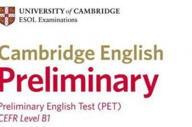 Cambridge English: Preliminary (PET) – egzamin na poziomie ponadpodstawowym B1 dla młodzieży i dorosłych