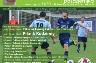 Mecz Charytatywny o Puchar Burmistrza Zatora i Dyrektora TVP Kraków ZAPRASZAMY!!!!