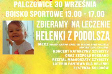 FESTIWAL KOLORÓW –  ZBIERAMY NA LECZENIE HELENKI Z PODOLSZA!!!