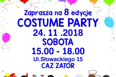 Costume Party 2018 24.11.2018 Sobota