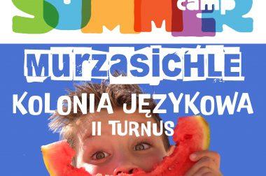 KOLONIA JĘZYKOWA 2020 MURZASICHLA 24.08.2020 – 30.08.2020